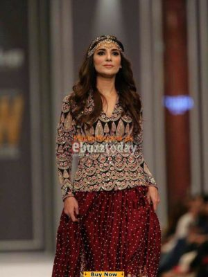 Saira Shakira Latest Velvet Embroidered Collection Replica