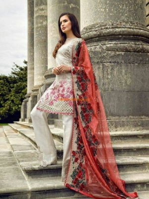 Sobia Nazir Luxury Embroidered Chiffon Collection Replica