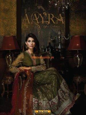 Aayra Latest Embroidered Chiffon Collection Replica