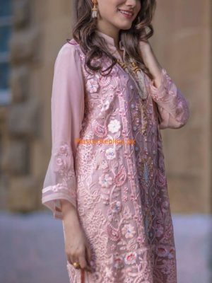 Agha Noor Latest Embroidered Chiffon Collection Replica