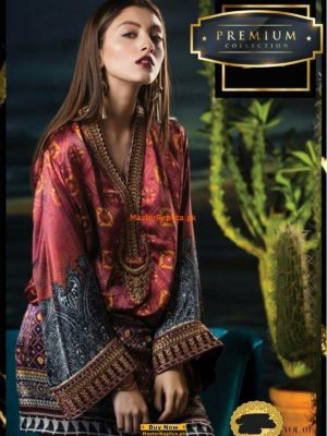 Maria B. Latest Printed Silk Collection 2018 Replica