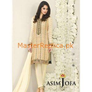 Asim Jofa Luxury Embroidered Chiffon Collection Replica