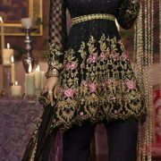 Zarkash Latest Embroidered Chiffon Designer Collection Replica