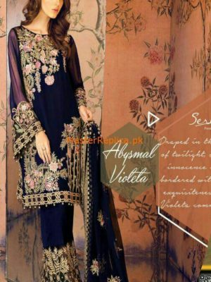 Serene Latest Embroidered Chiffon Collection Replica