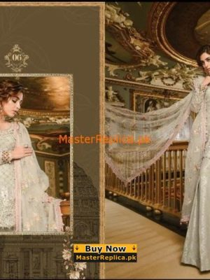 Maria B. Luxury Embroidered Net Collection Replica