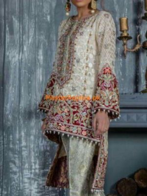 Sana Akhter Luxury Embroidered Chiffon Collection Replica