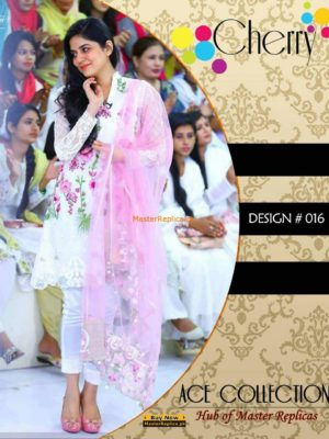 Sanam Baloch Latest Embroidered Designer Collection Replica