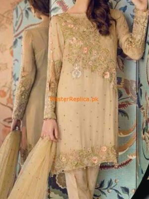 Sapphire Latest Embroidered Chiffon Party Wear Collection Replica