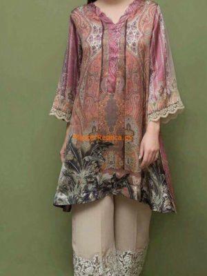 Sobia Nazir Latest Printed Silk Collection-18 Replica
