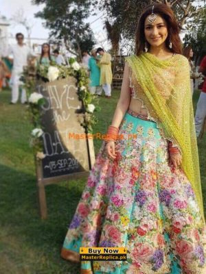 Nomi Ansari Luxury Bridal Chiffon Collection Replica