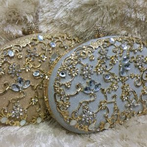 Fancy Evening Clutches Available in 2 Colors
