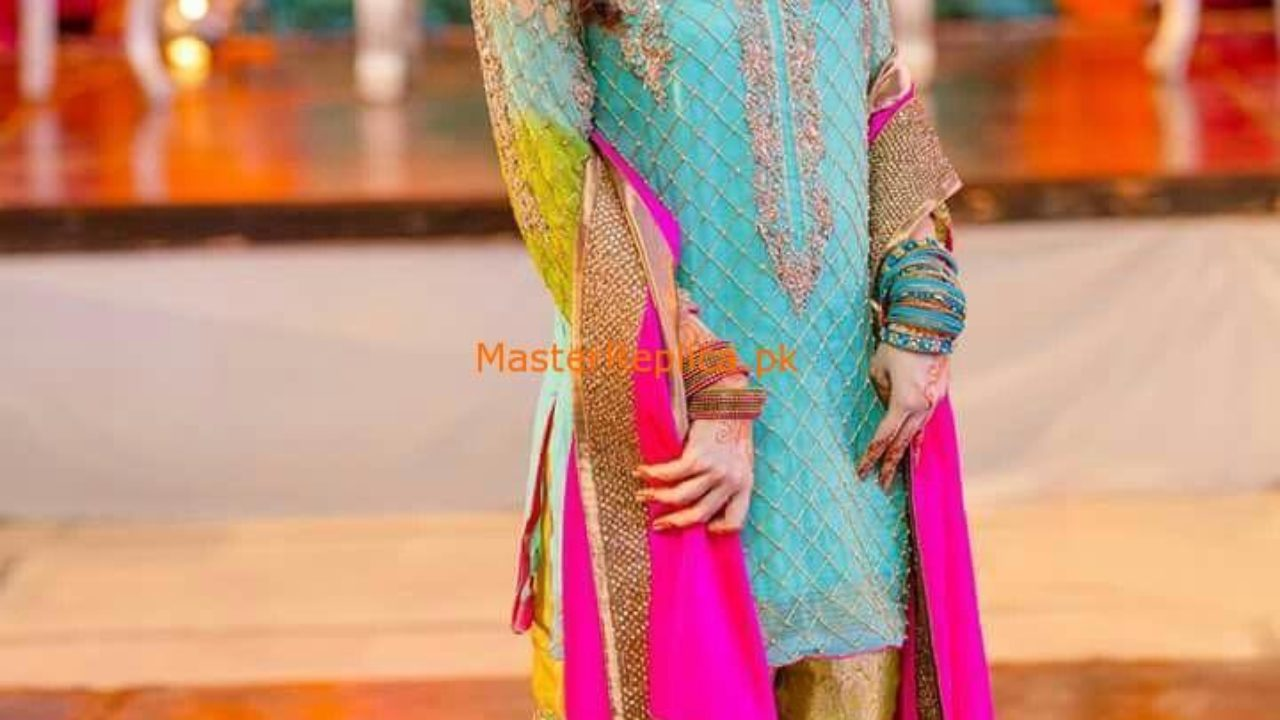 Aliza Waqar Latest Wedding Embroidered Collection Replica