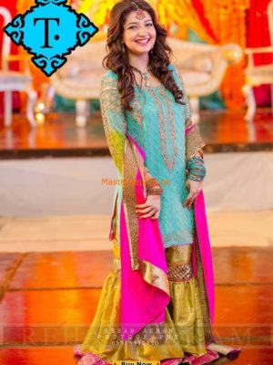 Aliza Waqar Latest Wedding Embroidered Collection Replica