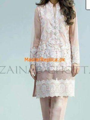 Zainab Chottani Latest Embroidered Chiffon Collection Replica