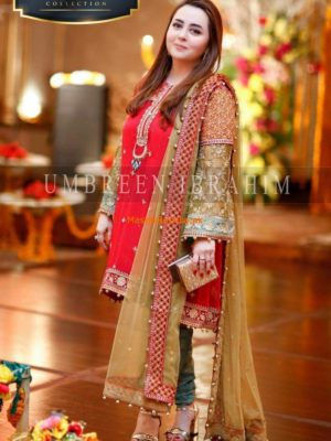Maria B. Latest Embroidered Chiffon Collection Replica
