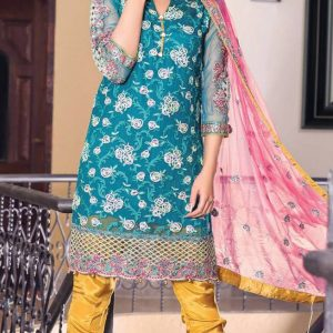 Maryam and Maria Latest Embroidered Chiffon Collection Replica