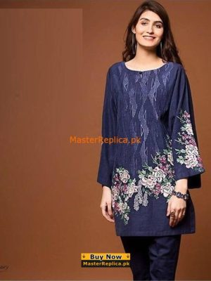 Mausummery Latest Embroidered Chiffon Collection Replica