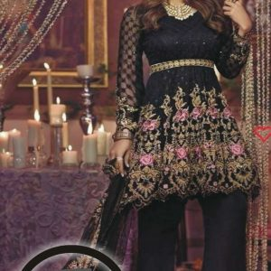 Mina Hassan Latest Embroidered Chiffon Collection Replica