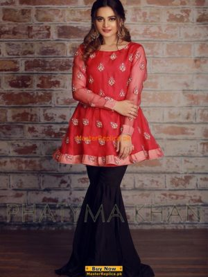 Phatyma Khan Latest Embroidered Chiffon Collection Replica