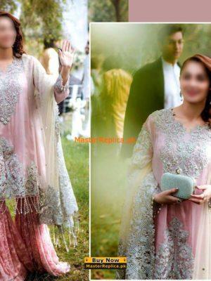 Rang Rasiya Latest Embroidered Net Collection 2018 Replica