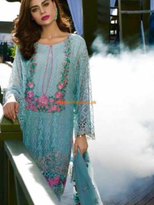 Reemal Khan Latest Embroidered Chiffon Collection Replica