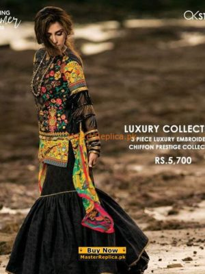 Alkaram Latest Embroidered Lawn Collection 2018 Replica