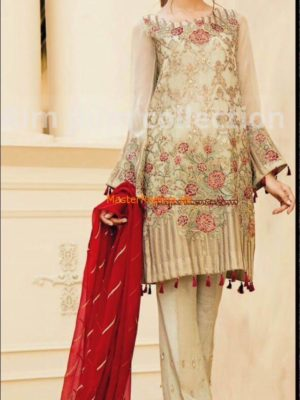 Baroque Latest Embroidered Chiffon Jazmin Collection Replica