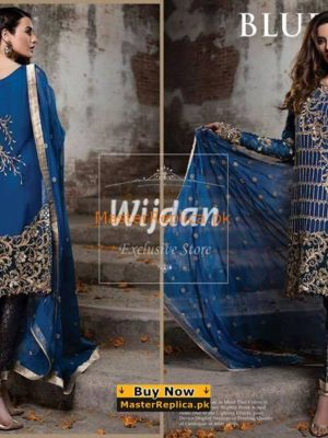 Imrozia Luxury Embroidered Chiffon Collection Replica