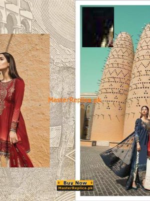 MARIA B. Luxury EMBROIDERED LAWN COLLECTION REPLICA 2018