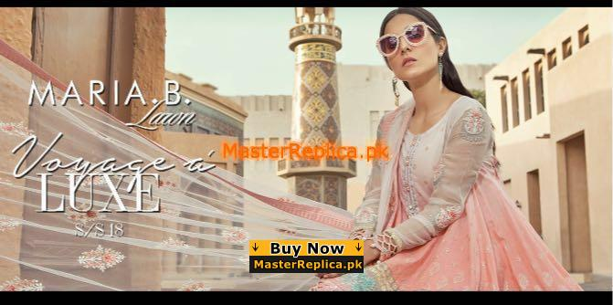 Maria B. Latest Embroidered Lawn Collection