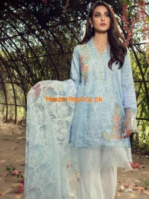 Maria B.Latest Embroidered Lawn Collection Replica