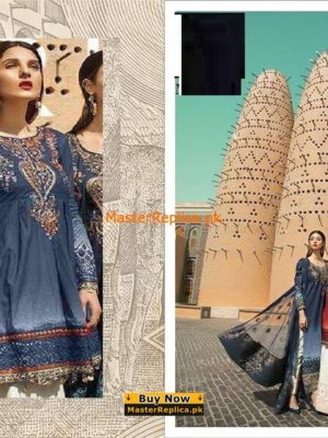 Maria B. Latest Embroidered Lawn Collection Replica 2018