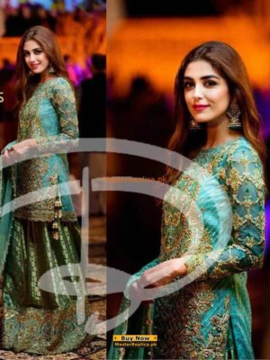 Master Replica Latest Embroidered Chiffon Collection Replica
