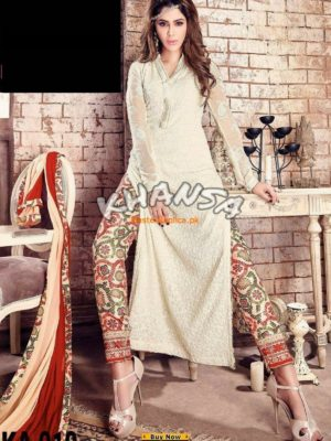 Master Replica Latest Embroidered Chiffon Collection Replica
