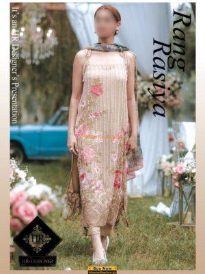 Rang Rasiya Luxury Embroidered Net Collection Replica