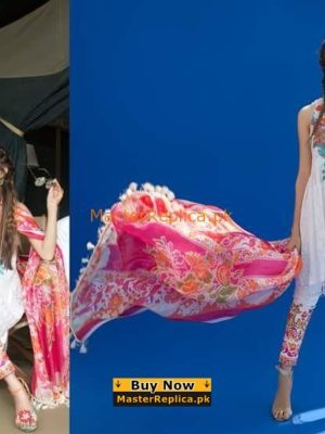 Sana Safinaz Latest Embroidered Lawn Collection Replica