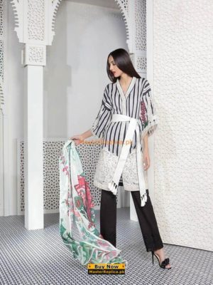 Sapphire Luxury Embroidered Lawn Collection Replica