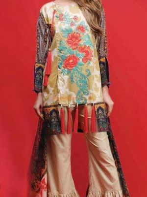 Warda Latest Embroidered Lawn Collection Replica