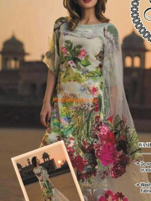 Asifa and Nabeel Embroidered Lawn Collection Replica