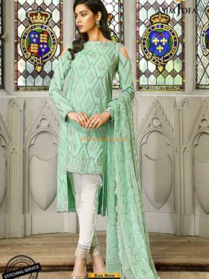 Asim Jofa Luxury AJL18-02 Lawn Collection Replica