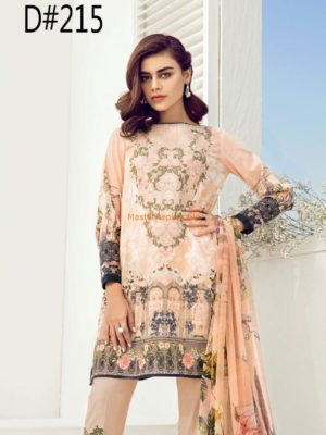 Baroque Latest D-125 Embroidered Lawn Collection Replica