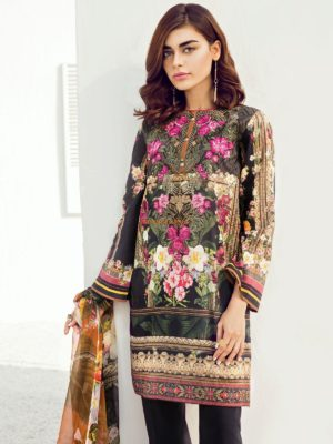 BAROQUE Latest Summer Bloom Embroidered Lawn Collection Replica