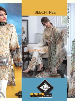 Beechtree Latest Embroidered Lawn Collection Replica