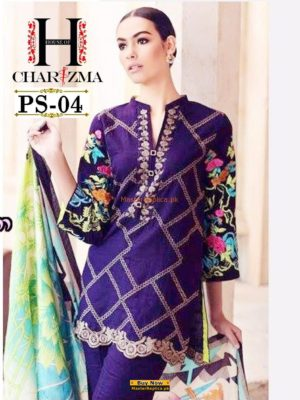 CHARIZMA Luxury Embroidered Lawn Collection Replica