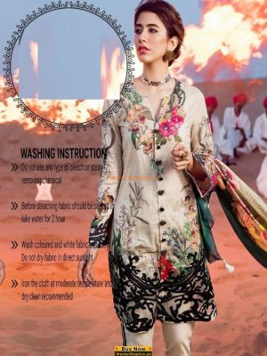 Cross Stitch Latest Printed Lawn Collection Replica