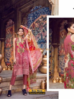 Ethnic Latest WUB181752 Embroidered Lawn Collection Replica