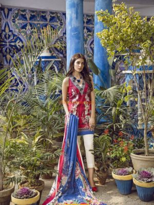 Ethnic Latest WUC181365 Embroidered Lawn Collection Replica