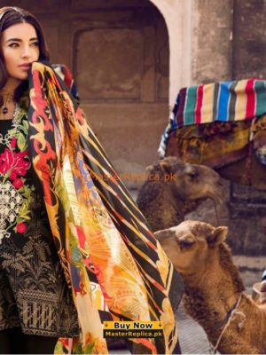 Ethnic Latest Inflorescence Embroidered Lawn Collection Replica