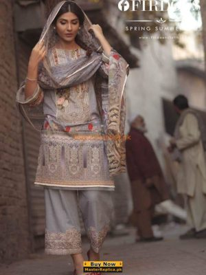 FIRDOUS Latest Embroidered Lawn Collection Replica 2018