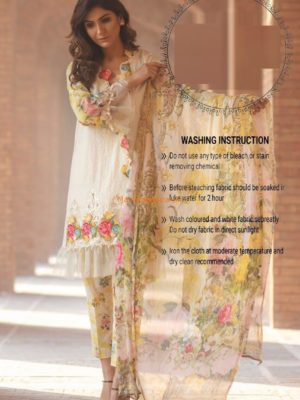 Firdous Latest Embroidered Lawn Collection